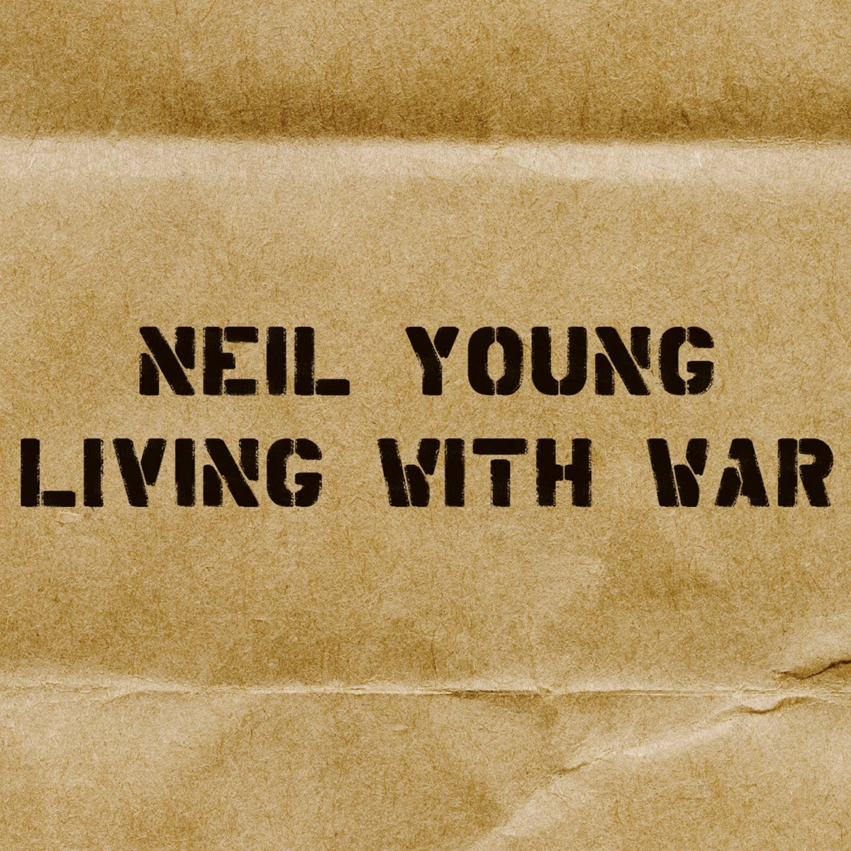 Living With War Neil Young CD cover