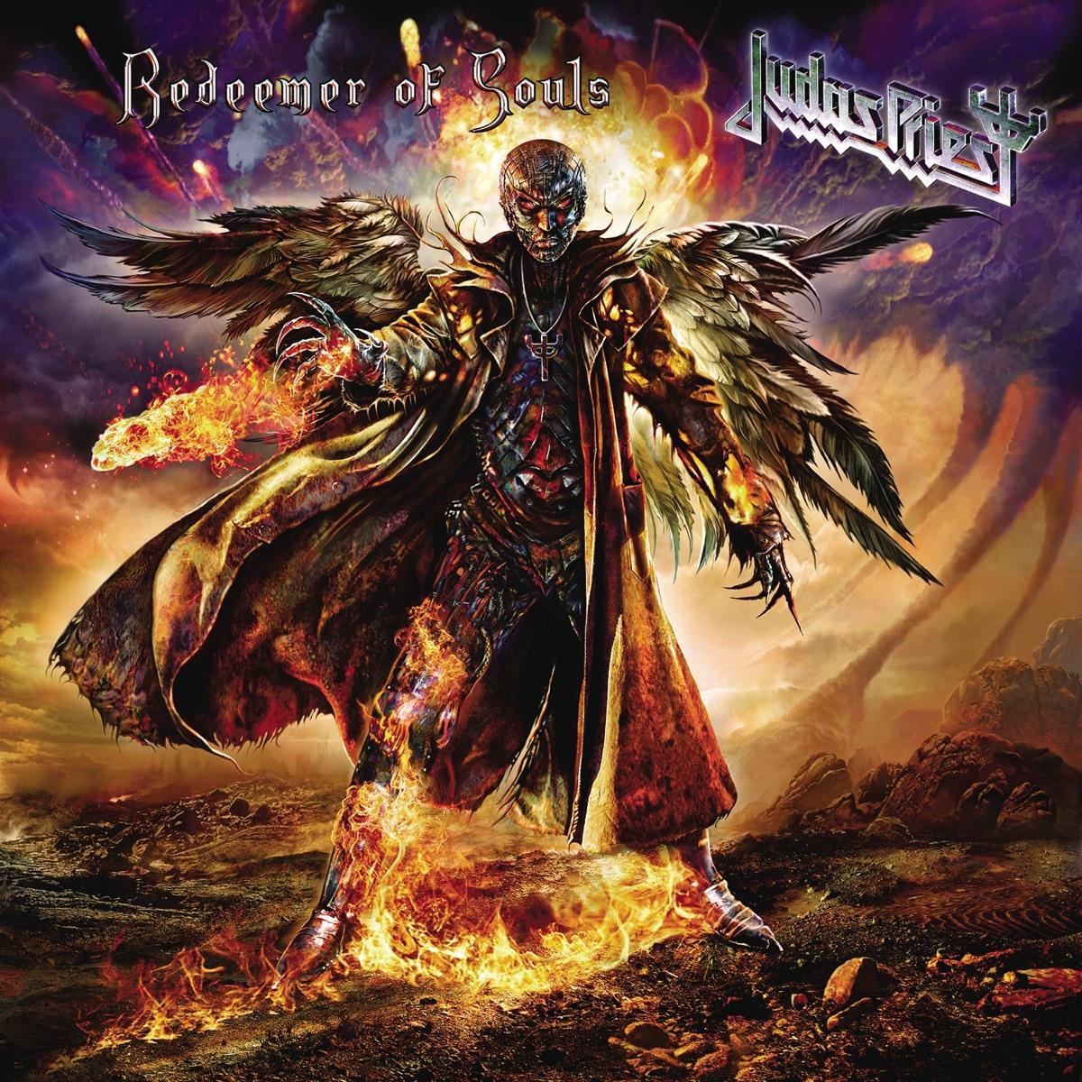 Redeemer of Souls Deluxe Version Judas Priest CD cover