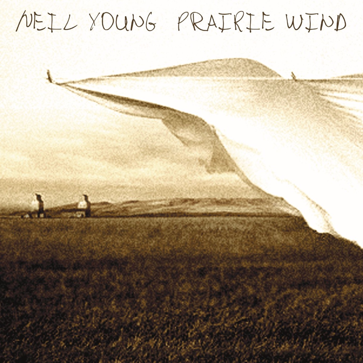 Prairie Wind Neil Young CD cover