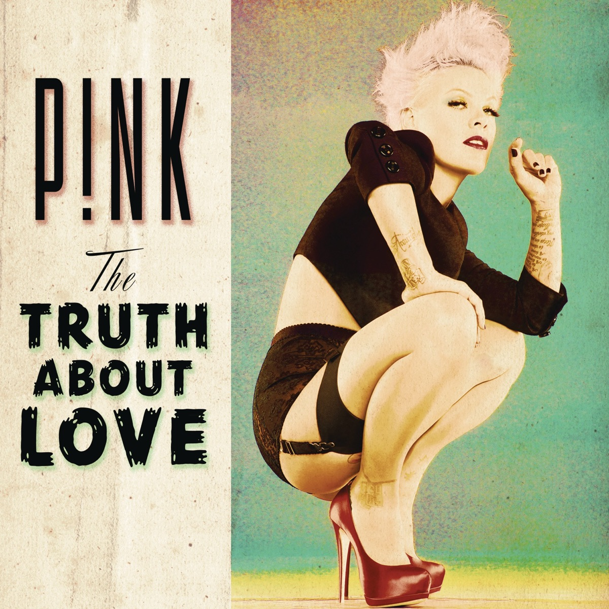 The Truth About Love Pnk CD cover