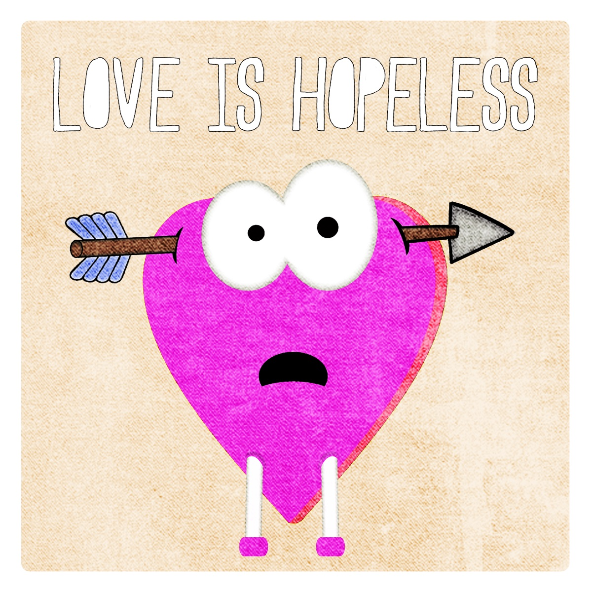 Love Is Hopeless Various Artists CD cover