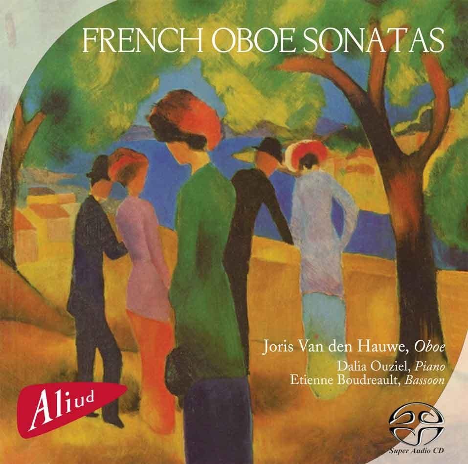 French Oboe Sonatas Album Cover By Joris Van Den Hauwe