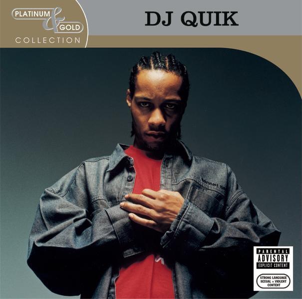 DJ Quik Platinum  Gold Collection DJ Quik CD cover
