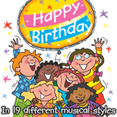 Happy Birthday  Chimey Style 1  Kidzone - Kidzone