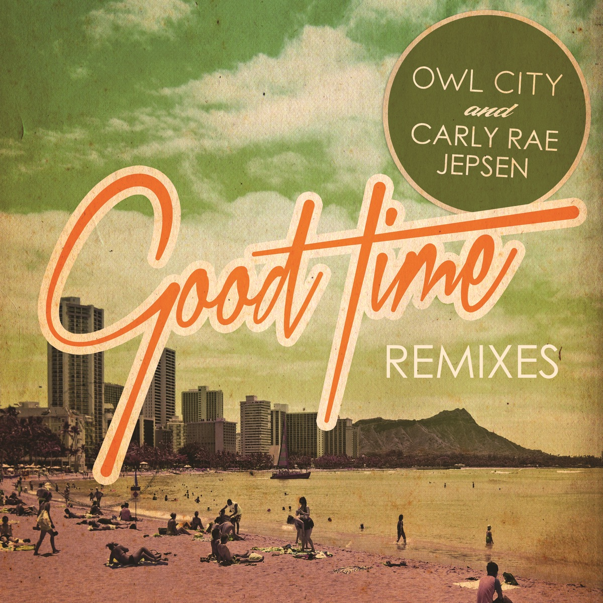 Good Time Album Cover by Owl City & Carly Rae Jepsen