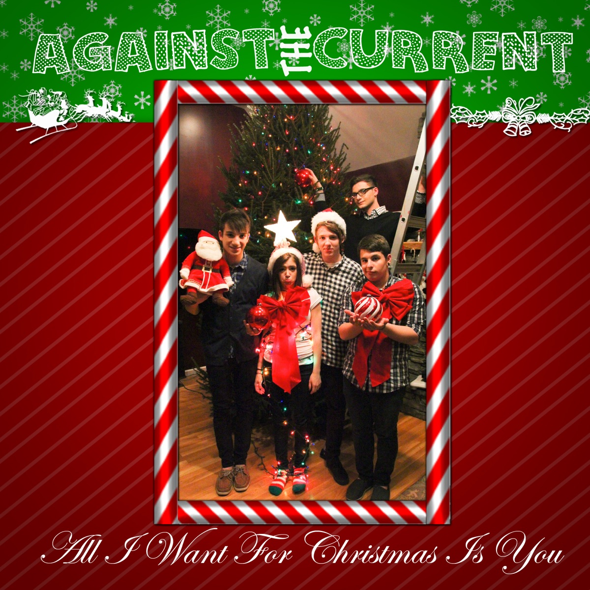 Who Wrote All I Want For Christmas Is You.All I Want For Christmas Is You Single Album Cover By