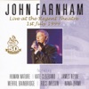 John Farnham Live At the Regent Theatre, John Farnham