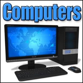 Computer Printer Old Dot Matrix Printer Printing Bidirectional Computer Monitors Printers
