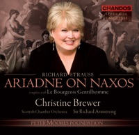 Strauss: Le Bourgeois Gentilhomme - Ariadne auf Naxos by Catriona Beveridge, Richard Armstrong, Bradley Creswick, Scottish Chamber Orchestra, David Watkin, Christine Brewer, Gail Pearson, Matthew Rose, Paul Keohone, Gillian Keith, Pamela Helen Stephen, John Graham Hall, Declan McCusker, Roderick Williams, Stephen Fry, Dean Robinson, Alan Opie, Alice Coote, Wynne Evans, Robert Dean Smith & Anita Watson on Apple Music