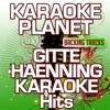 Gitte Haenning Karaoke Hits (Karaoke Planet) - Single ジャケット写真