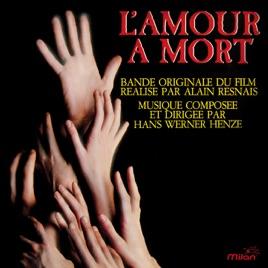 Bildergebnis für hans werner Henze L'amour à mort soundtrack