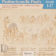 Psalms from St Paul's, Vol. 01 - St. Paul's Cathedral Choir, Andrew Lucas & John Scott