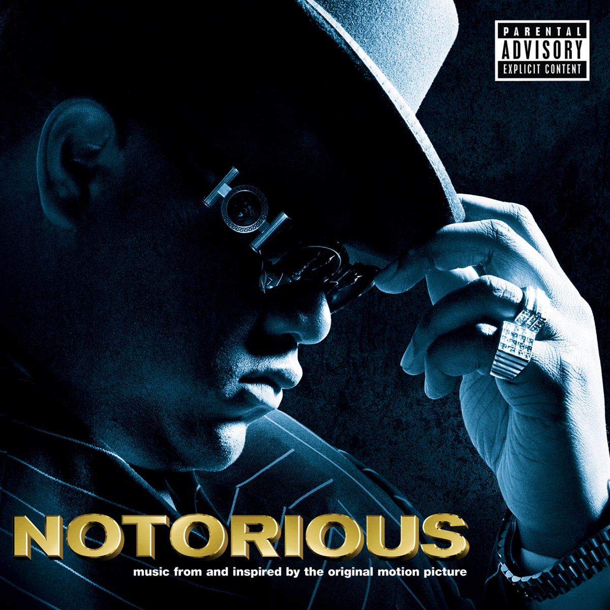 Notorious Music from and Inspired By the Original Motion Picture The Notorious BIG CD cover