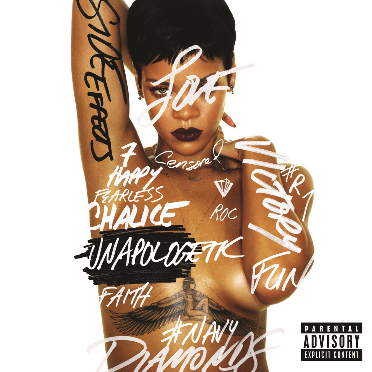 Unapologetic Deluxe Version Rihanna CD cover