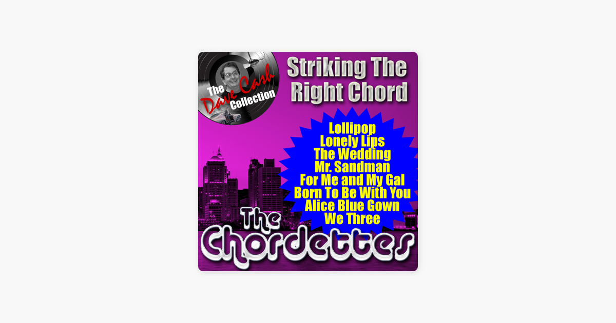 Striking the Right Chord by The Chordettes on iTunes
