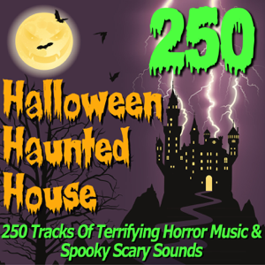 Pro Sound Effects Library - Halloween Haunted House - 250 Tracks of Terrifying Horror Music & Spooky Scary Sounds