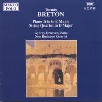 Bretón: Piano Trio; String Quartet