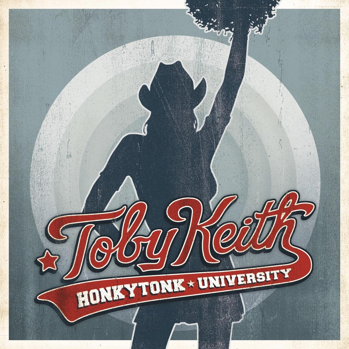 Honkytonk University Toby Keith CD cover