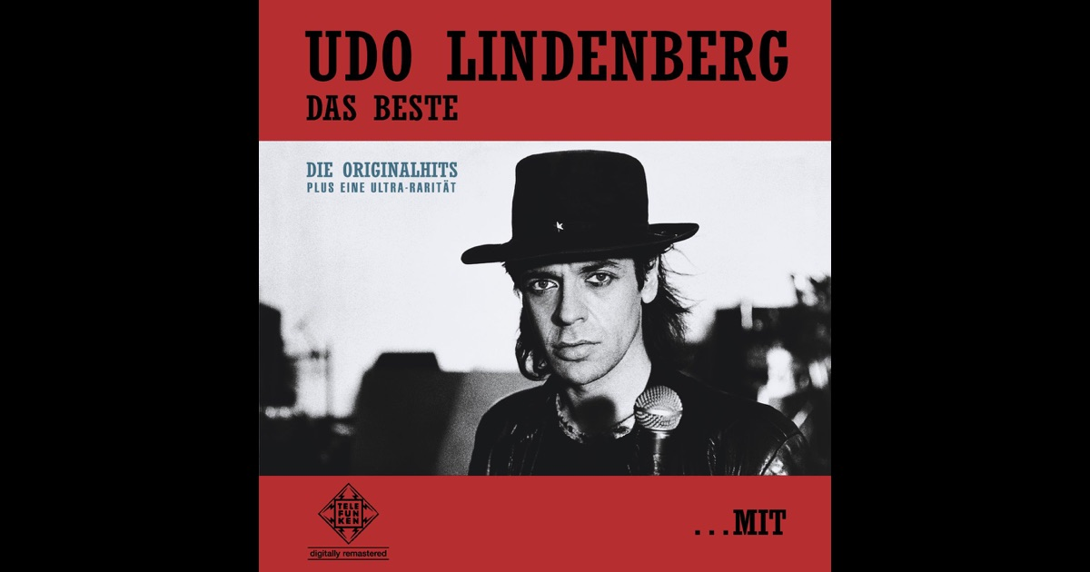 udo lindenberg das beste mit und ohne hut von udo. Black Bedroom Furniture Sets. Home Design Ideas