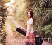 Good Bye Days YUI Acoustic Version YUI