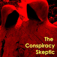 Podcast cover art for The Conspiracy Skeptic