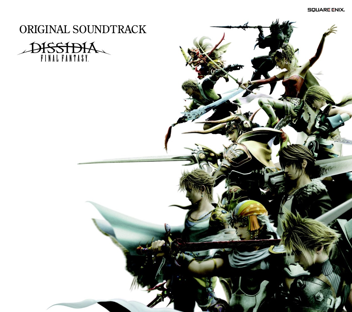 DISSIDIA FINAL FANTASY Original Soundtrack Album Cover by Square