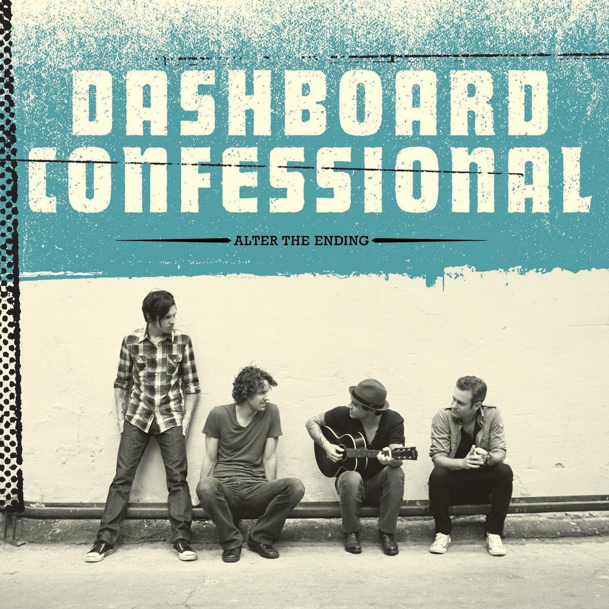 Alter the Ending Deluxe Version Dashboard Confessional CD cover