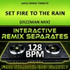 Set Fire to the Rain (Adele Remix Tribute)[128 BPM Interactive Remix Separates] - EP, DJ Dizzy