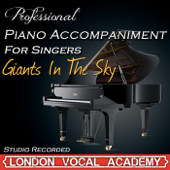 Giants In the Sky ('Into the Woods' Piano Accompaniment) [Professional Karaoke Backing Track]
