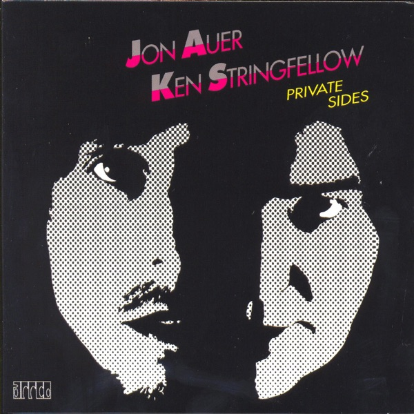 Private Sides - EP Jon Auer  Ken Stringfellow CD cover