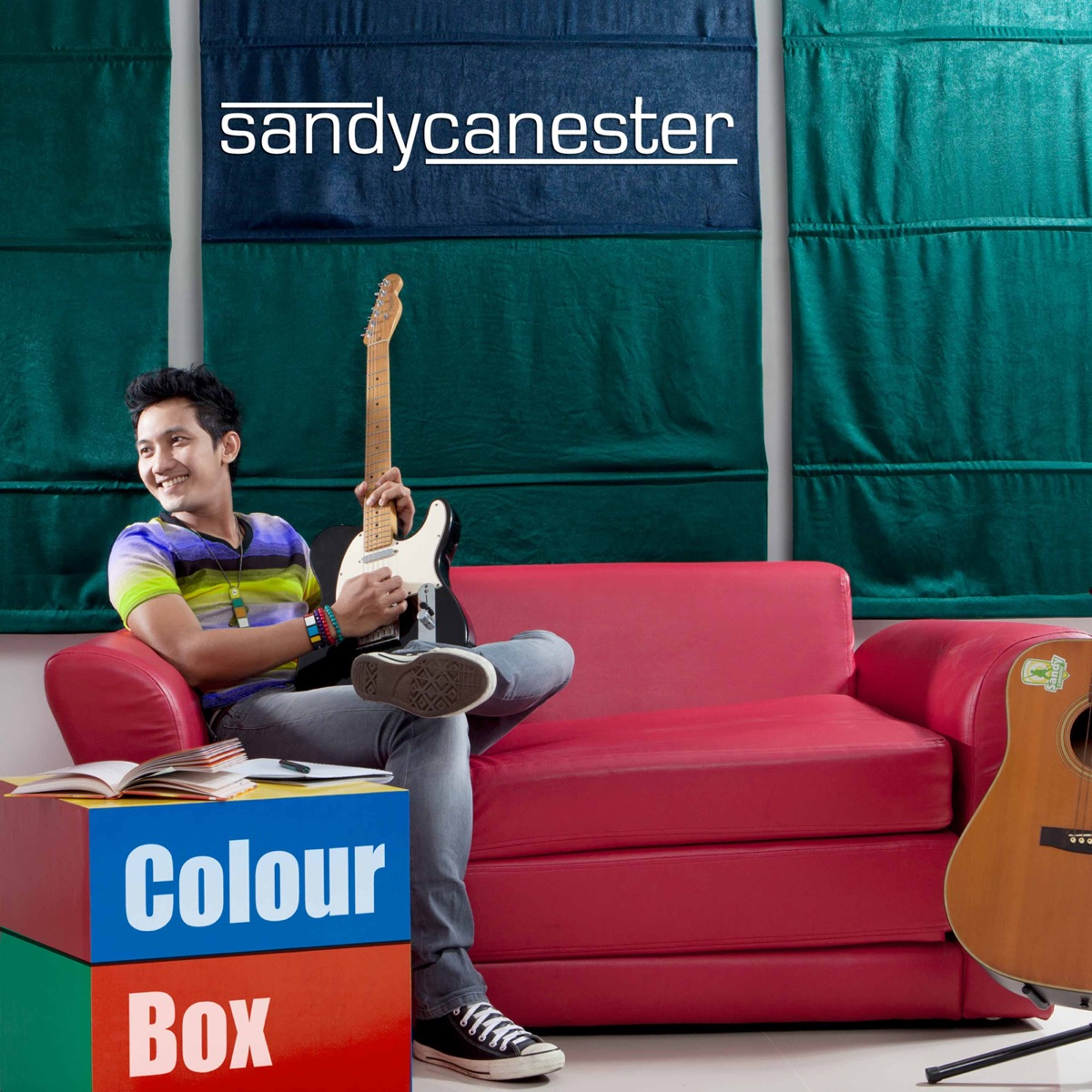 Colour Box Sandy Canester CD cover