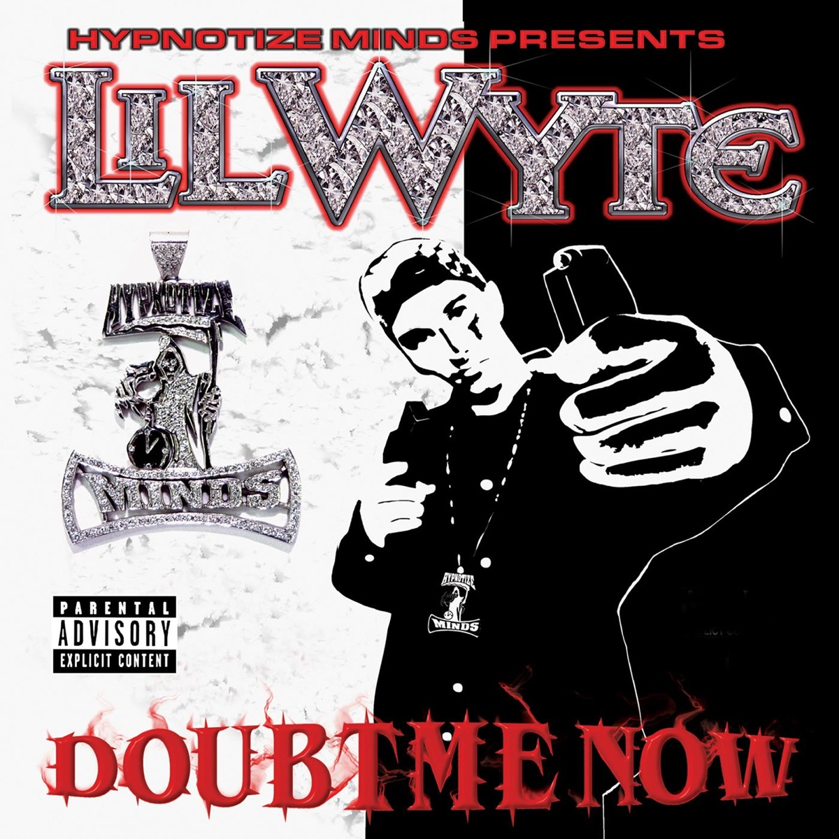 Doubt Me Now Lil Wyte CD cover