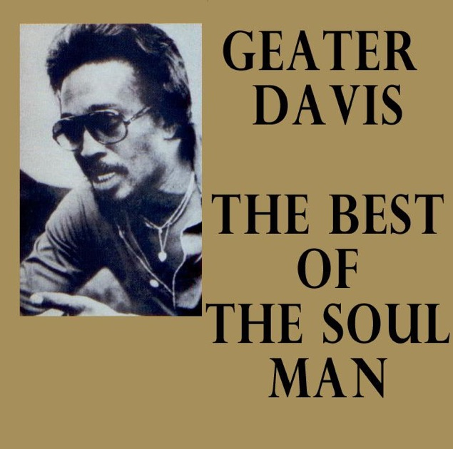 Geater Davis My Love Is So Strong For You I Can Hold My Own