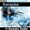 Karaoke Pop Songs April 2014 - The Karaoke Studio