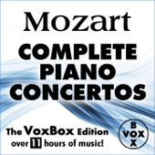 Mozart: Complete Piano Concertos (The VoxBox Edition)