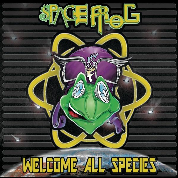 Space Frog mit (X-Ray) Follow Me