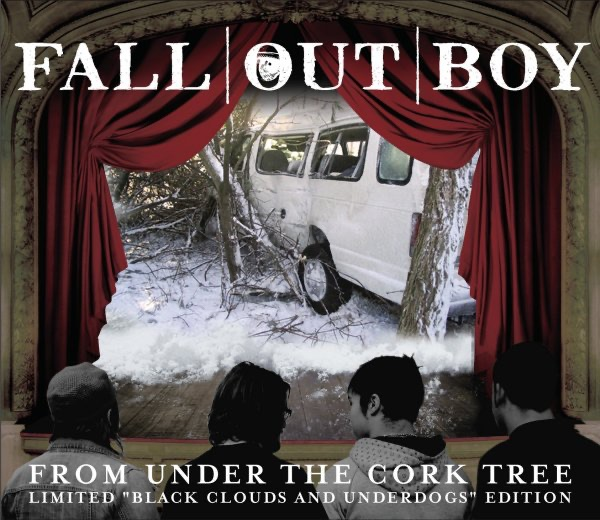From Under the Cork Tree Limited Black Clouds and Underdogs Edition - EP Fall Out Boy CD cover