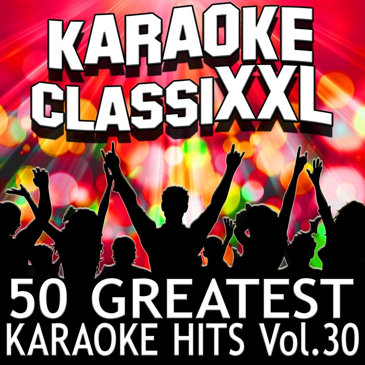 50 Greatest Karaoke Hits Vol 30 Karaoke Version Dohn Joe CD cover