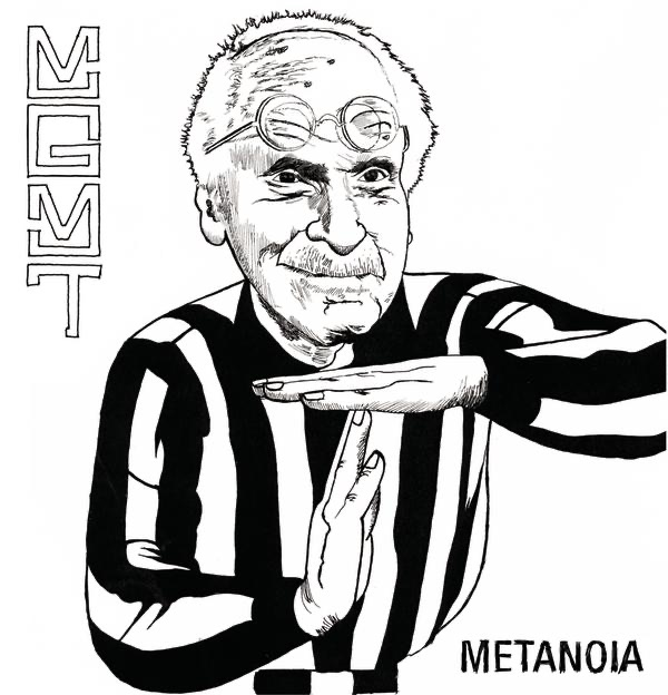 Metanoia - Single MGMT CD cover
