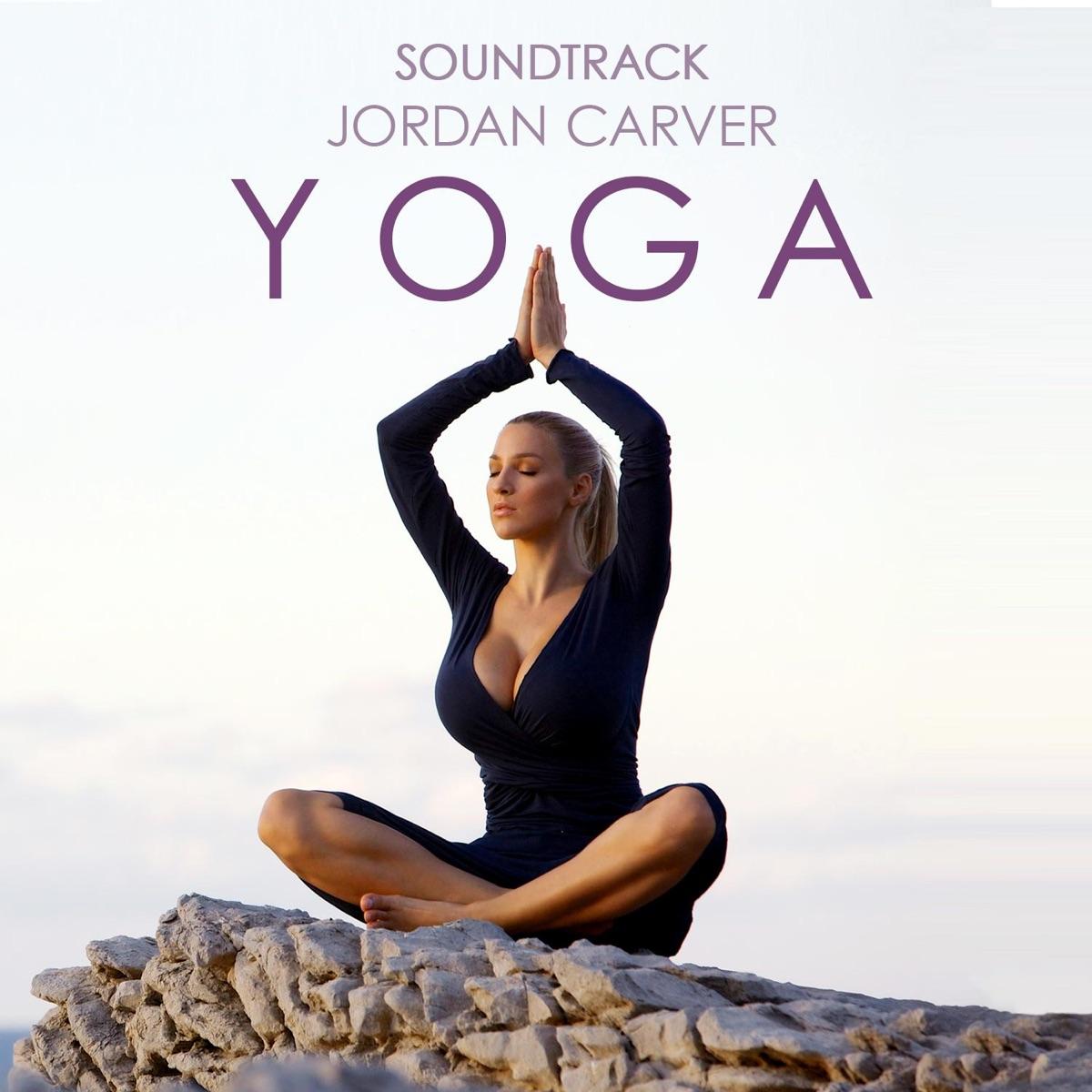 Jordan Carver Yoga DVD Soundtrack Album Cover By Sascha Ende