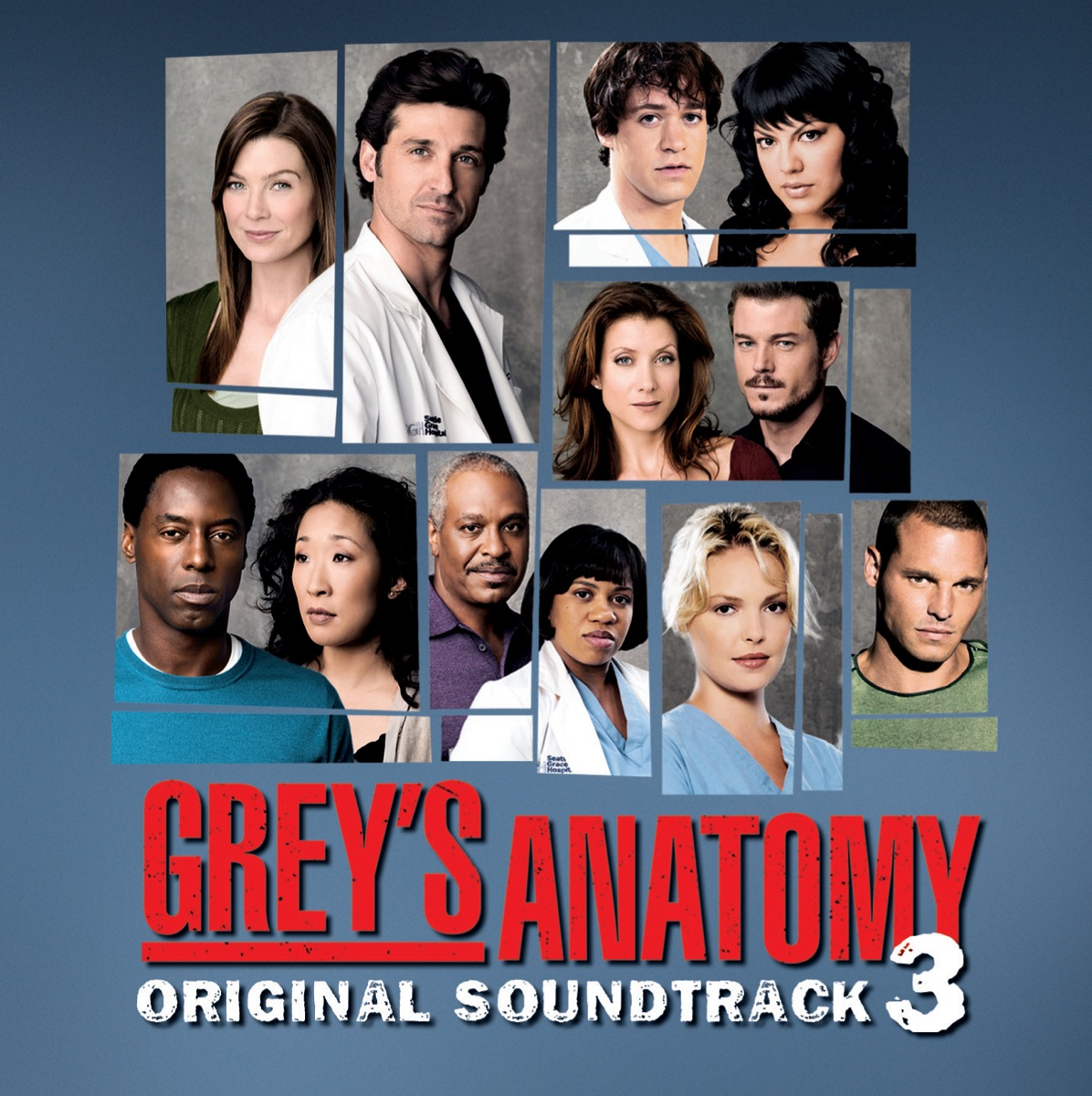 Grey\'s Anatomy, Vol. 3 Album Cover by Various Artists