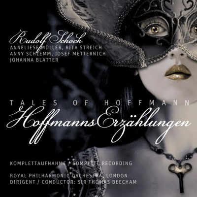 Hoffmanns Erzählungen / Tales of Hoffmann - Complete Recording (Oper in 1 Prolog,  3 Akten u. 1 Epilog/Libretto: Jules Barbier und Michel Carre/Rec. 1951 in London) - Royal Philharmonic Orchestra