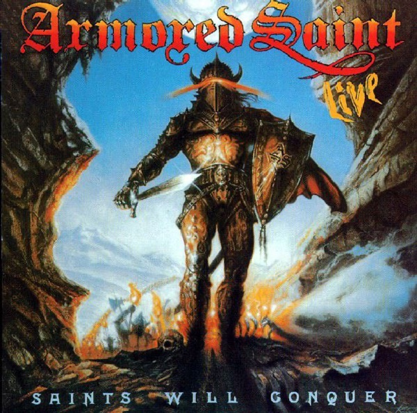 Armored Saint mit Can U Deliver