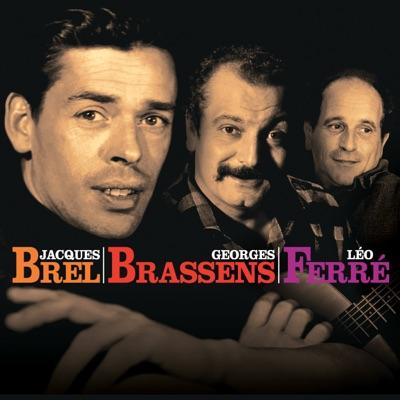 Le coffret Brel, Brassens, Ferré - Jacques Brel