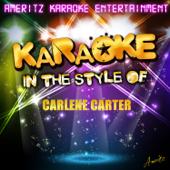 Karaoke (In the Style of Carlene Carter)