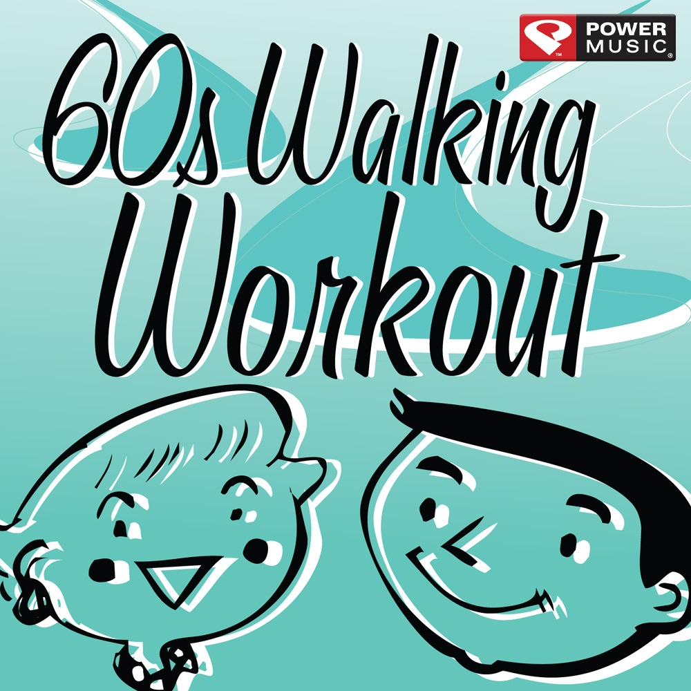 60s Walking Workout Album Cover by Power Music Workout