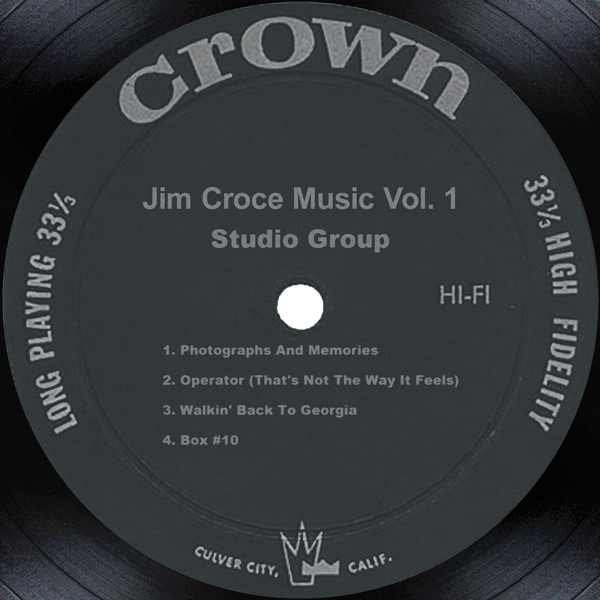 I'll Have To Say I Love You In A Song by Jim Croce on Mearns 70s