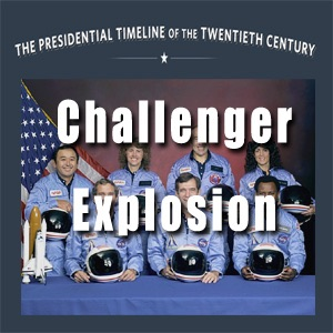 Challenger Explosion, January 1986