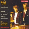 Lutoslawski: Paganini Variations - Helweg: America Fantasy, Safri Duo & Slovak Piano Duo