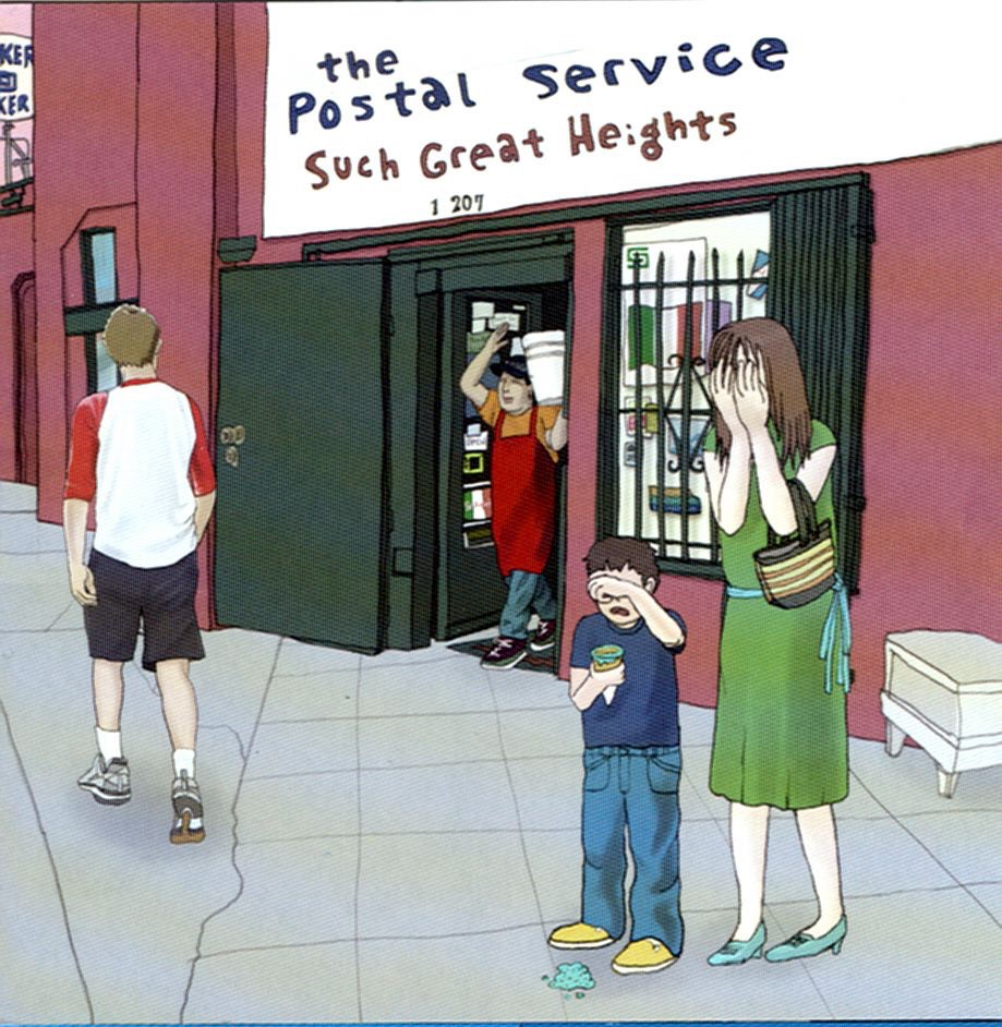 Such Great Heights - EP The Postal Service CD cover